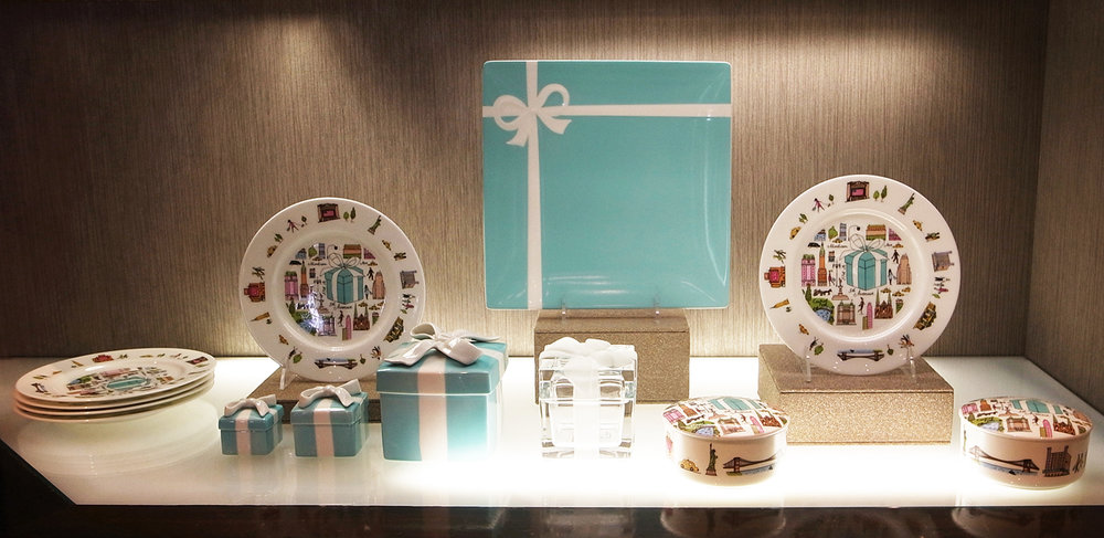 Tiffanys shop display