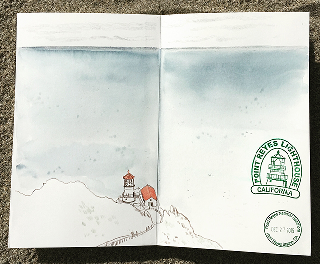 point reyes sketchbook