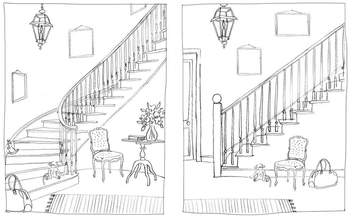 stairway roughs