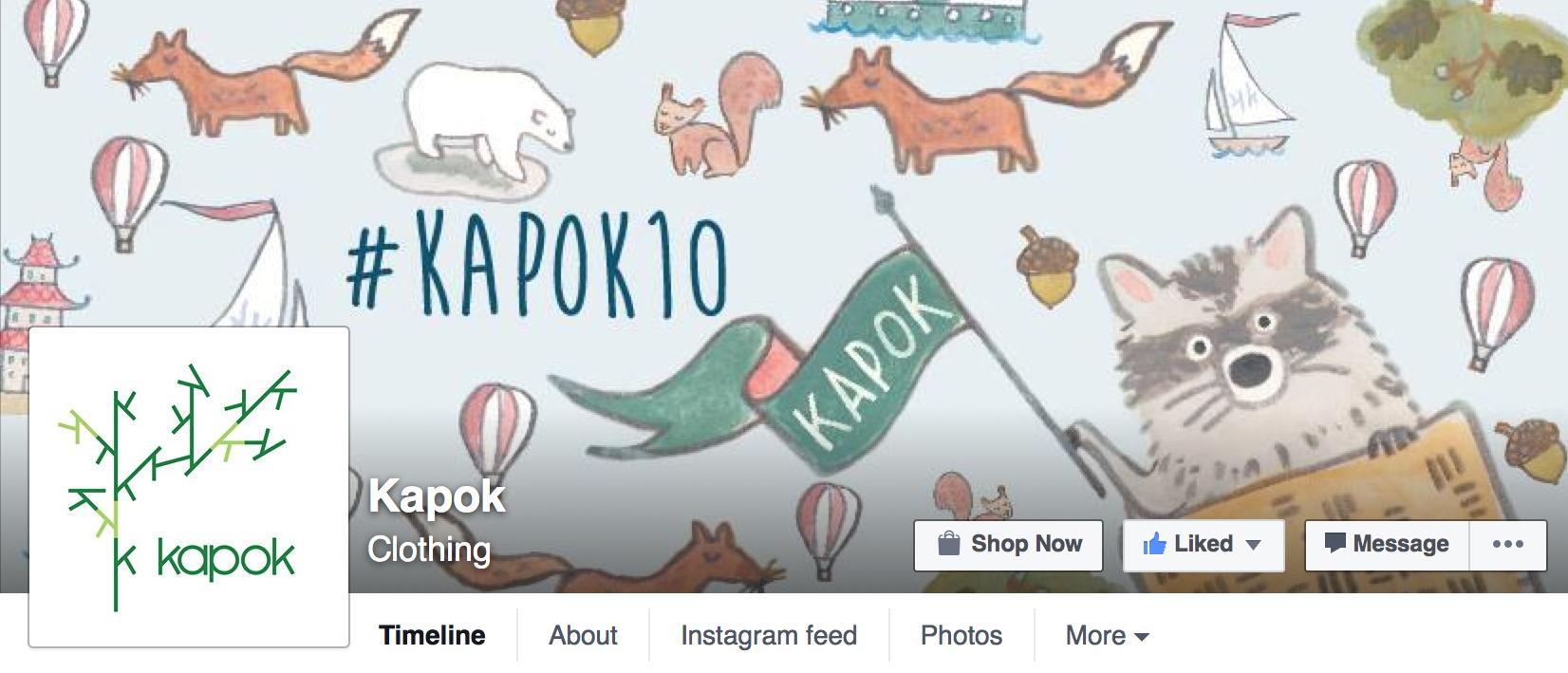 kapok banner copy