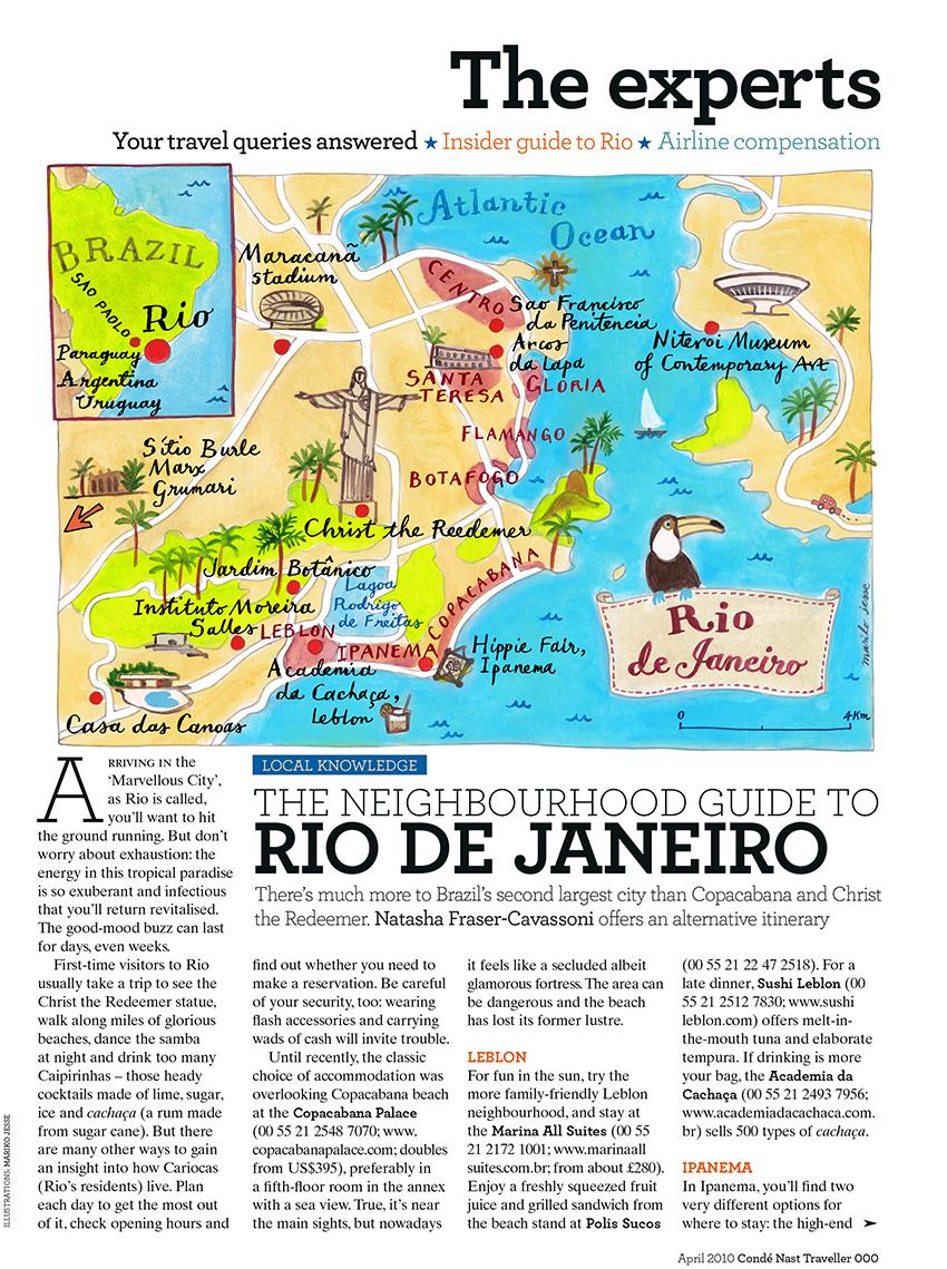 rio map
