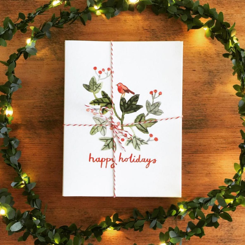 christmas cards for sale — Mariko Jesse illustration