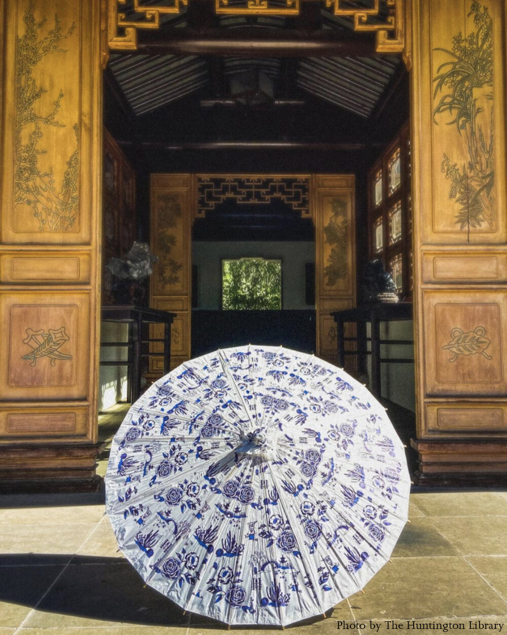 The Huntington parasol