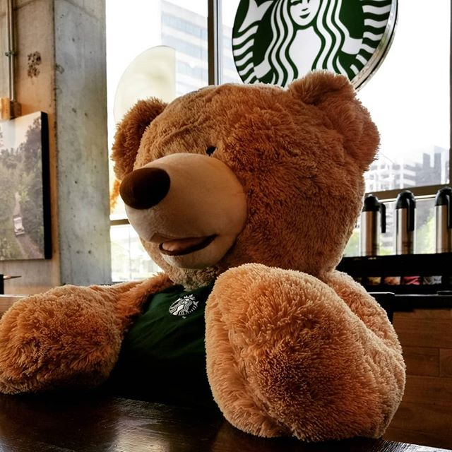 Today's office we were able to enjoy coffee with the Starbuck's bear! . . . . . #elevatethecare #dcdogsitter #moneymaker #startup #entrepreneurlife #entrepreneurs #entrepreneurlifestyle #entrepreneurship #onlinemarketing #motivational #millionairemindset #successful #millionairelifestyle #instagramdogs #petstagram #dogs_of_instagram #puppylove #weeklyfluff #ilovemydog #doglovers #dogoftheday #dogsofig #doglover #washingtondc #exposeddc #igdc #mydccool #acreativedc #streetmeetdc  #focalmarked