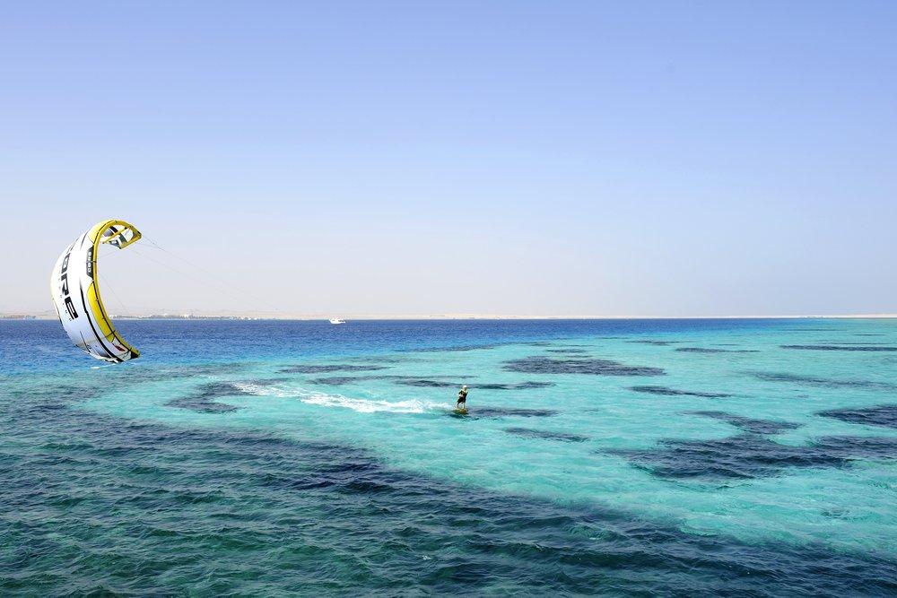 Kitesurfing & Wassersport Soma Bay.