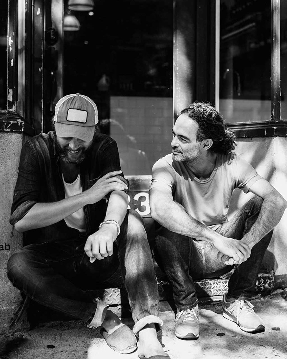 Fabrice Penot i Eddie Roschie