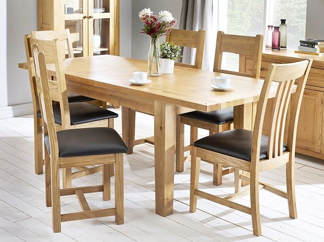 Check out our Colorado dinning range - perfect for those afternoons full of tea & cake 🍰☕️ . To access this range, click on the link in the bio and select Colorado in the ranges section. . . . #furniture #homeliving #diningtable #diningchairs #afternoontea #furnituredesign #furnituregoals #greatcustomerservice #whitegloveservice #interior #interiordesign #interiordesigner