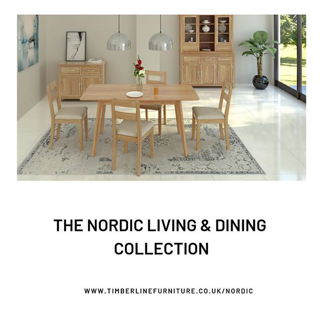 ✨Introducing you to our latest collection The Nordic Living & Dining✨Inspired by Nordic simplicity, this modern yet versatile range is guaranteed to give your home that extra special feel.  _________________________________________________________ Find the collection here; www.timberlinefurniture.co.uk/nordic _________________________________________________________ #woodfurniture #interiordesign #homely #decor #furniture #design #homeinspo #designtrends #interiordesigninspiration #timberlinefurniture #instadaily #diningtable #family #furniture #kitchentable #chairs #homeinspo #dininggoals #designtrends #timberlinefurniture #bookcase #diningtable #diningtabledecor #familyownedbusiness