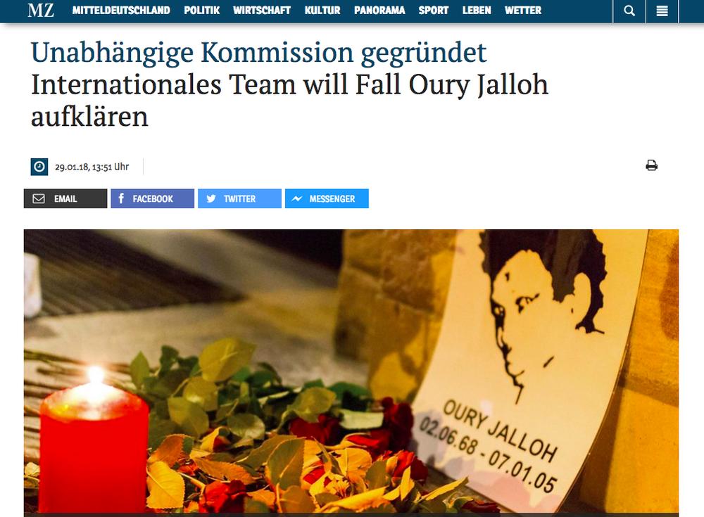 Mitteldeutsche Zeitung29 Jan 2018 -
