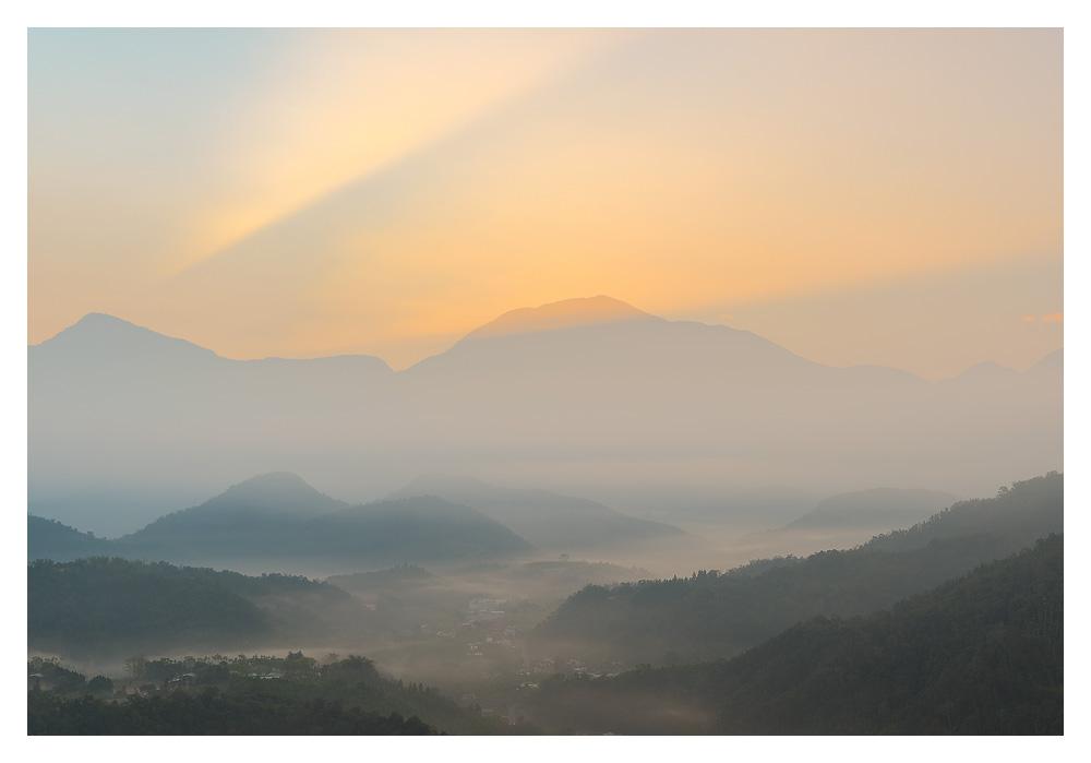 Jinlongshan sunrise