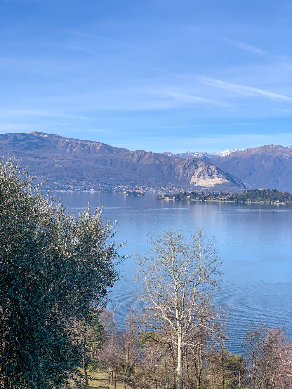 What a day :-) - View from Laveno to Intra