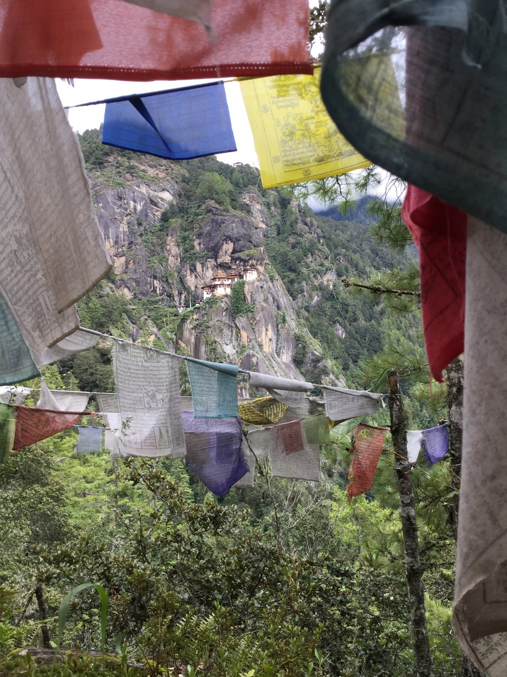 Paro Taktsang, The Tiger's Nest Monastery.