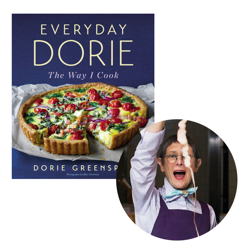 """- """"Dorie Greenspan is a pro, entrusted with the recipes of the greatest pastry chefs in France, and she's also a home cook whose own recipes are marvels of flavor and simplicity. I want to eat everything she wants to cook.""""—Francis Lam, host, The Splendid Table$35.00"""
