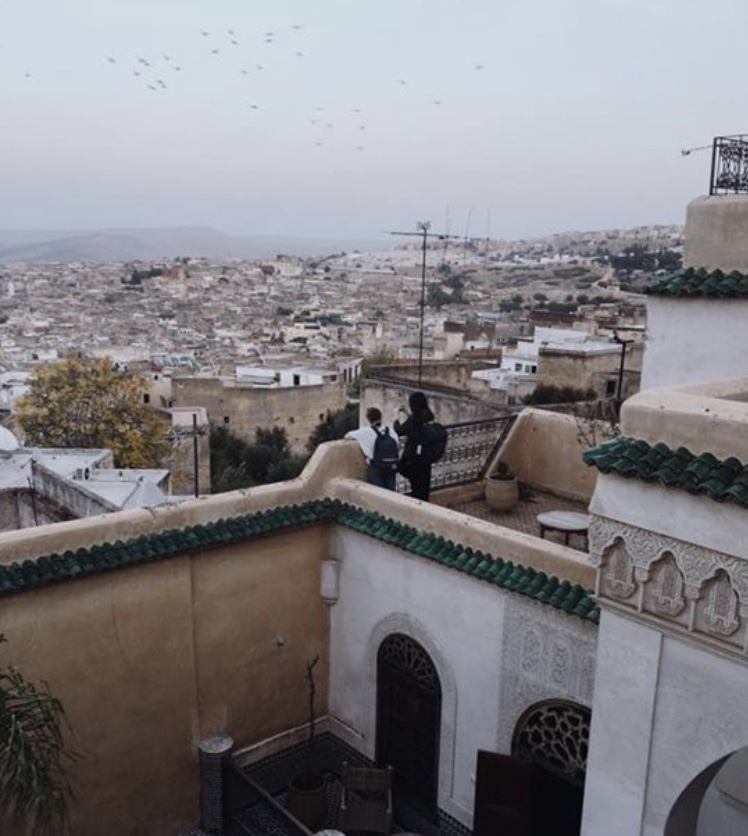 Riad Les Oudayas - Rooftop photo opportunities