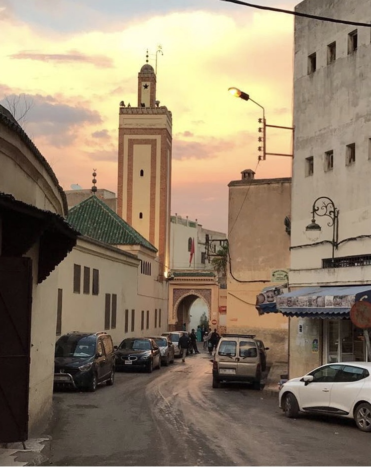 Sunset in the Medina
