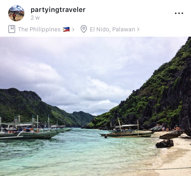 El Nido, Palawan - We love seeing all of the Partying Traveler's post on Jet Journal. If you want to see more of his travels from all over the world, be sure to follow him @partyingtraveler on Jet Journal or look up his blog!