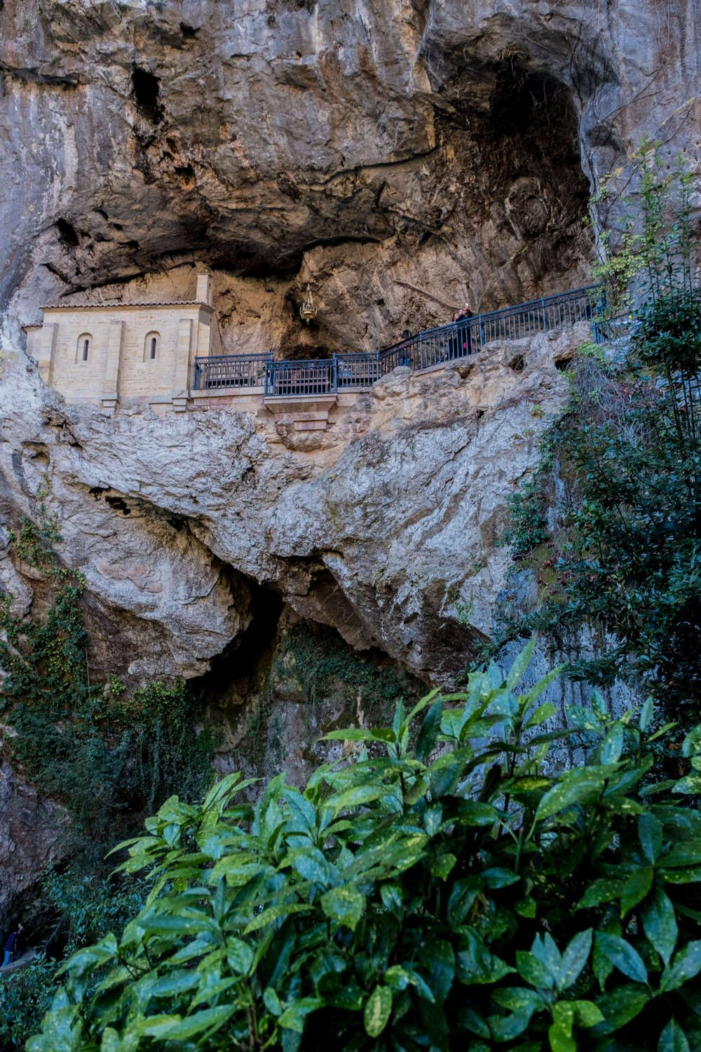 Sanctuary of Covadonga - Right next to the Basilica