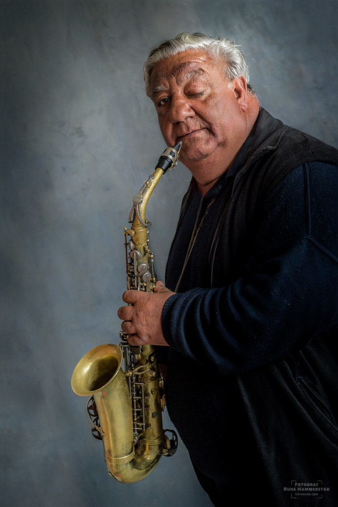 saksofon saksofonist i Oslo levd liv portrett musiker Ion Bybilde Oslo National
