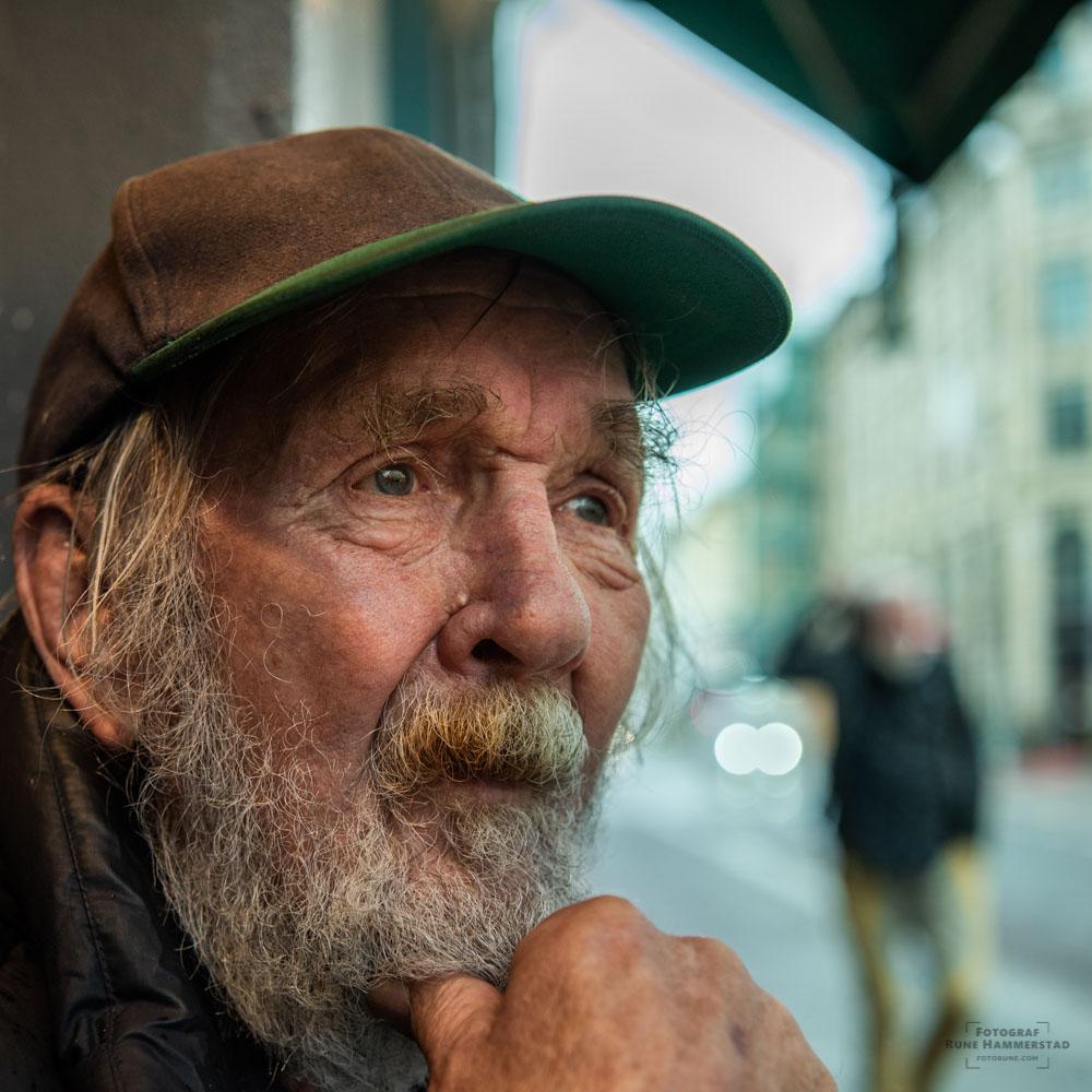 """""""Med 45 år på sjøen har livet lært meg å jobbe hardt for å få det man ønsker"""""""