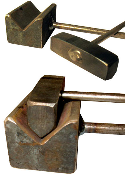 Top and Bottom Vee Block Tools