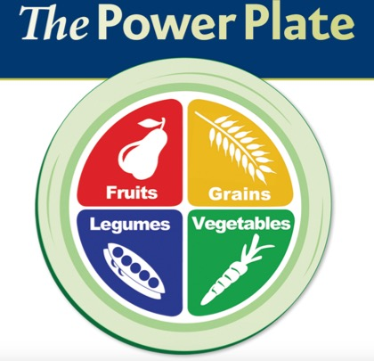 The Power Plate: The Real Food Groups (from PCRM)
