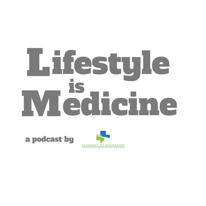 Weekly podcast on lifestyle medicine