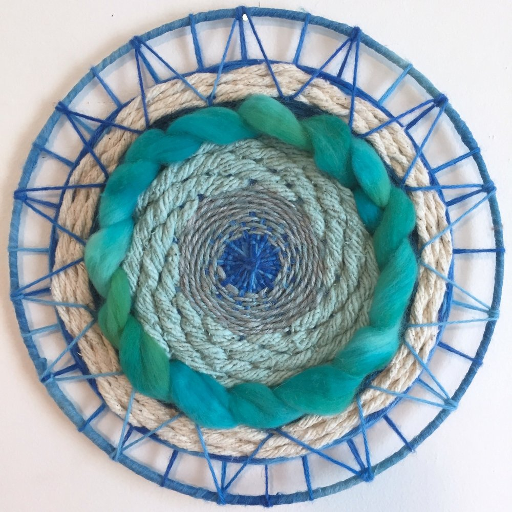 Blue Green Circular