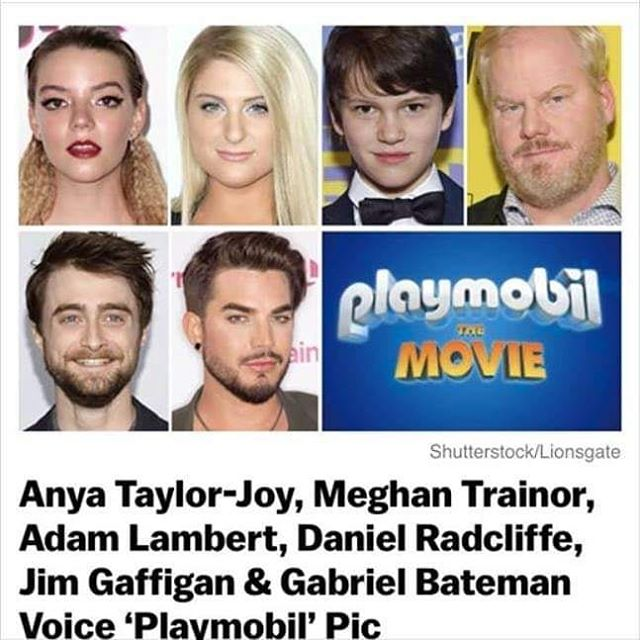 Oh no! The Playmobil movie cast list was leaked! On the upside, I finally get to share this with all of you! Lookout for the Playmobil movie this Summer 2019.