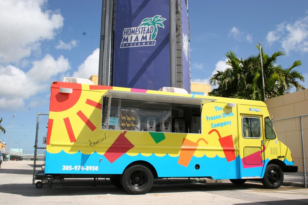 GAMSON FROZEN DRINK TRUCK AT HOMESTEAD.JPG