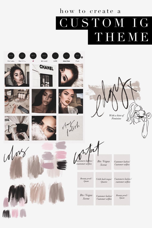 How To Create A Custom Instagram Theme Tatiana Soash