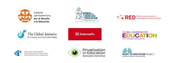 Logos organisations press release Chile March 2015