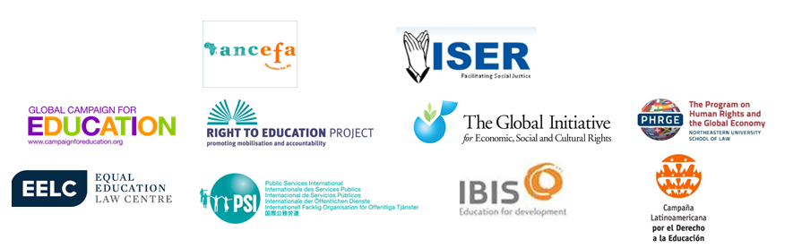 Logos supporting organisations Uganda Press release