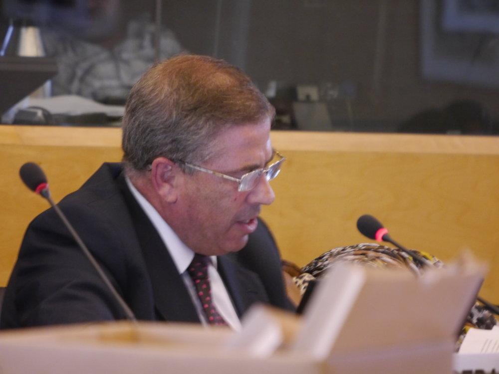 CRC Member Hatem Kotrane reviewing Morocco