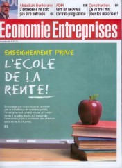 """Rent school"" – news paper front cover"