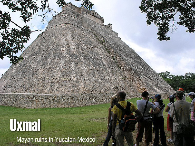 Uxmal - The name Uxmal means: 'That which was built three times' the Puuc route is an obligatory trip when you come in Yucatan