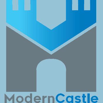 modern castle logo derek hales