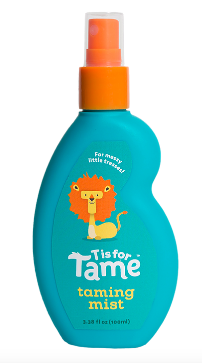 T is for Tame branding (taming mist)