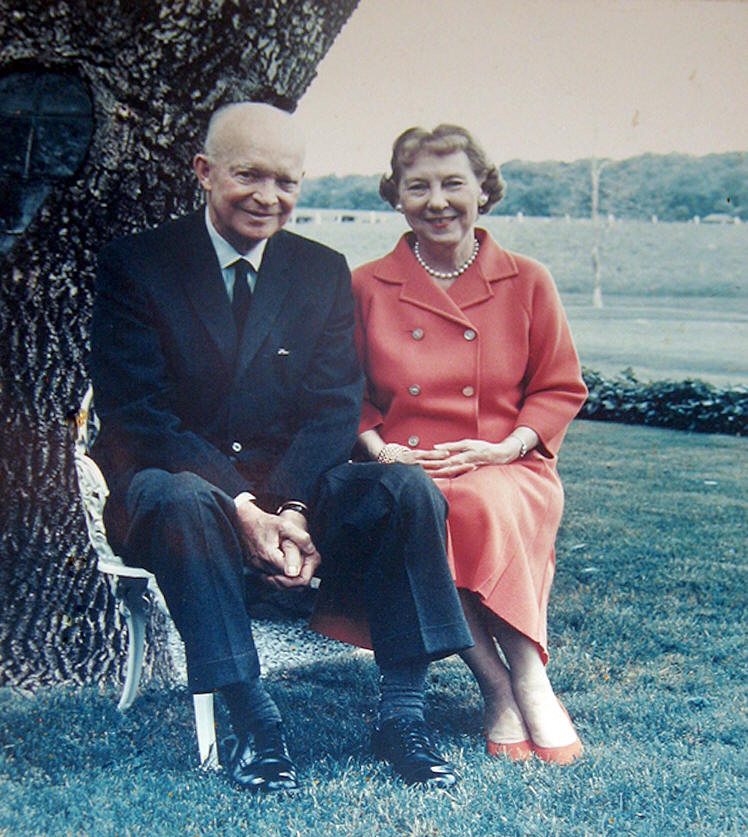 Ike and Mamie Eisenhower