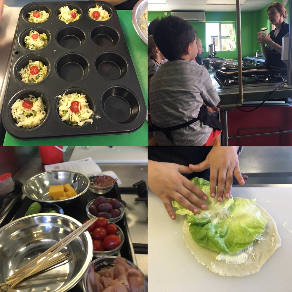 I worked at a kids cooking school over one of my long holidays, it was an amazing experience!