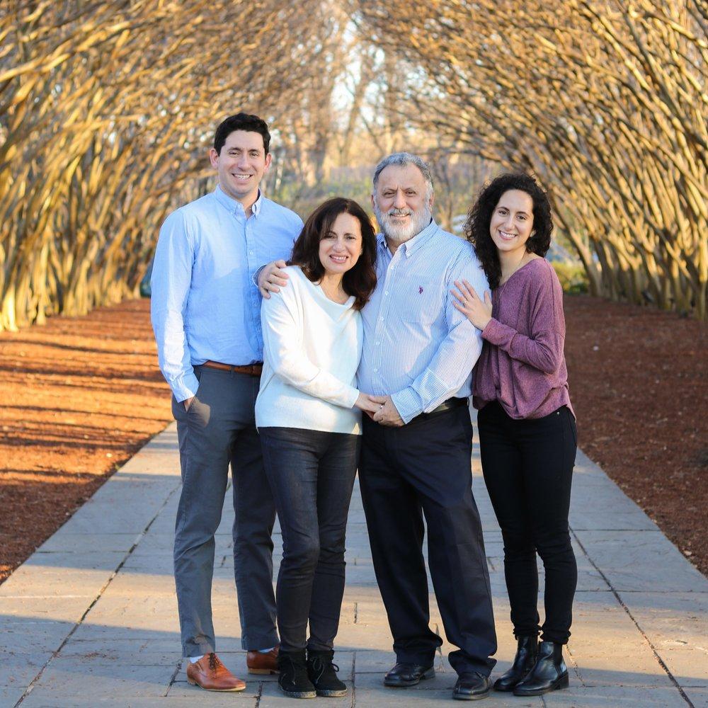 Dallas Family Photography at The Dallas Arboretum