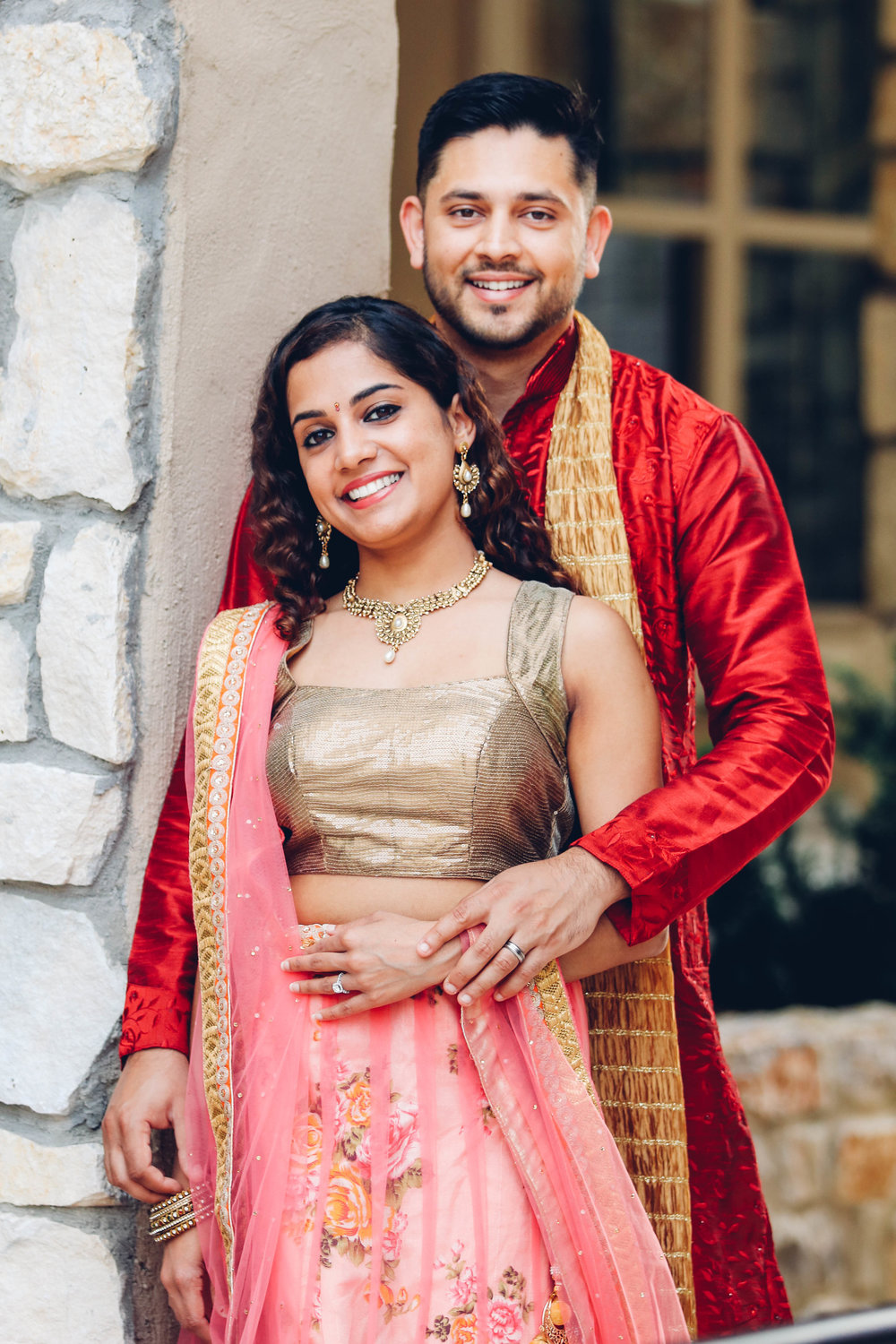 Indian Engagement - Adriatica in McKinney, TX