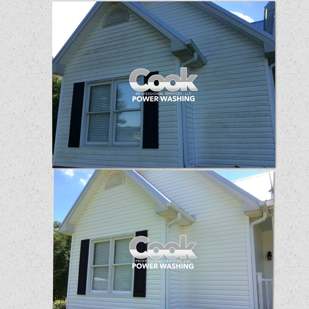 We can safetly turn your green exterior into clean exterior!