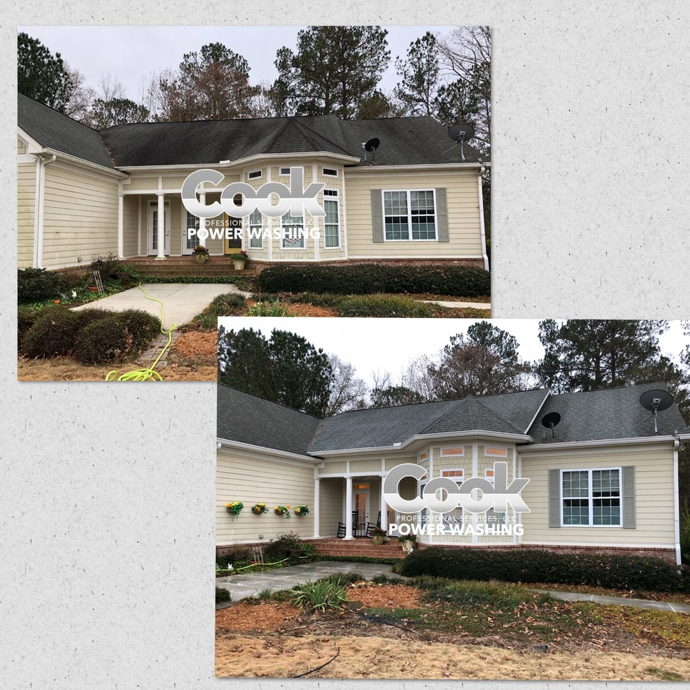 Roof Cleaning and House Wash, Oconee County, Ga