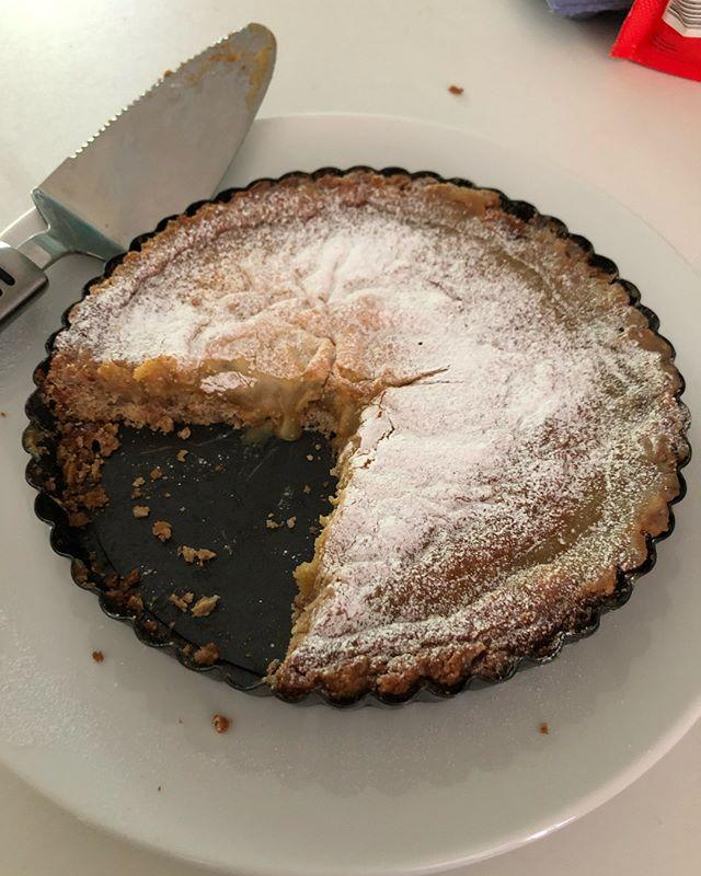 Finally got to make @milkbarstore Crack Pie! I then made the original recipe and made two more for the freezer! 😋