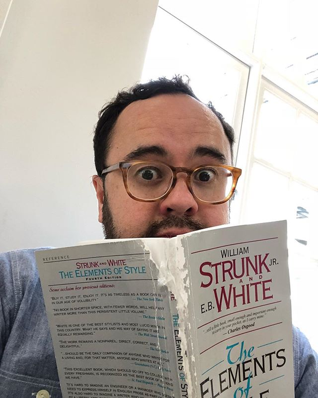 Me swotting up before my interview with David Sedaris, a man who I greatly admire and who was generous enough to give me two hours of his time to chat with me about life, digital, turtles and baby squirrels. Best two hours of my life, the man is a comic genius (and loather of selfies hence why it's just me!