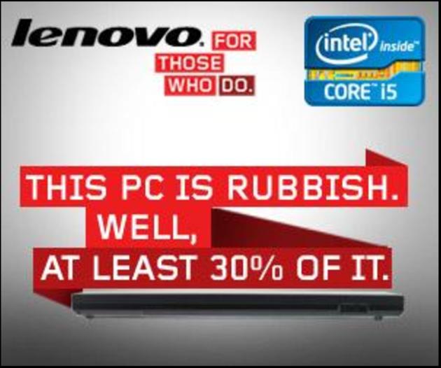 Lenovo Web Banner