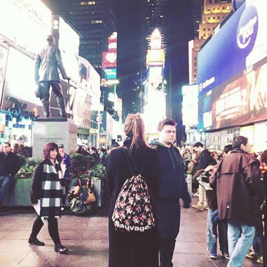 Fanny. Time Square - New-York - Etats-Unis