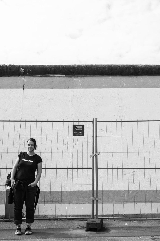 Lucile. - Mur de Berlin - Allemagne