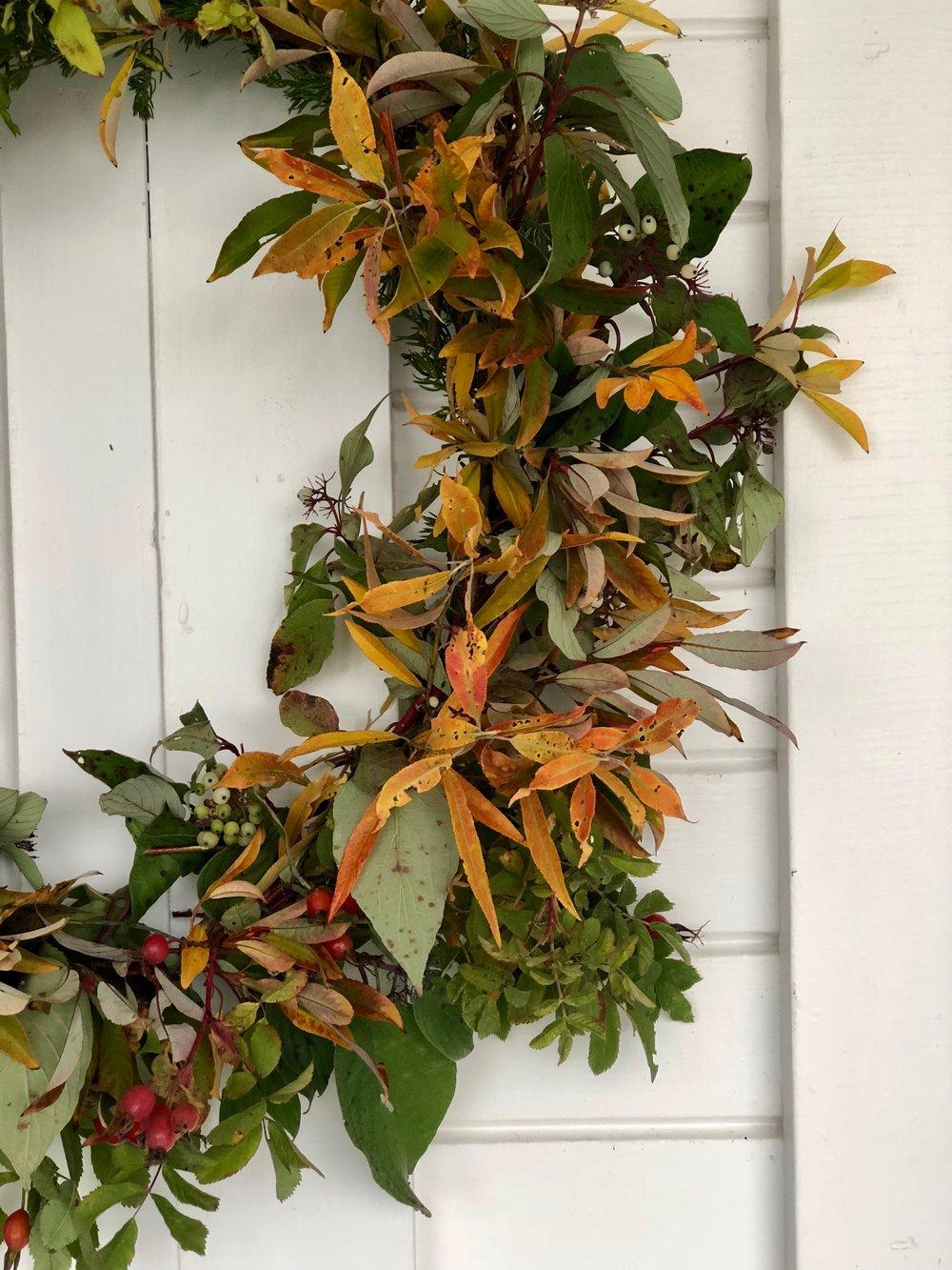NECTAR + BLOOM || Foraged Autumn Wreath