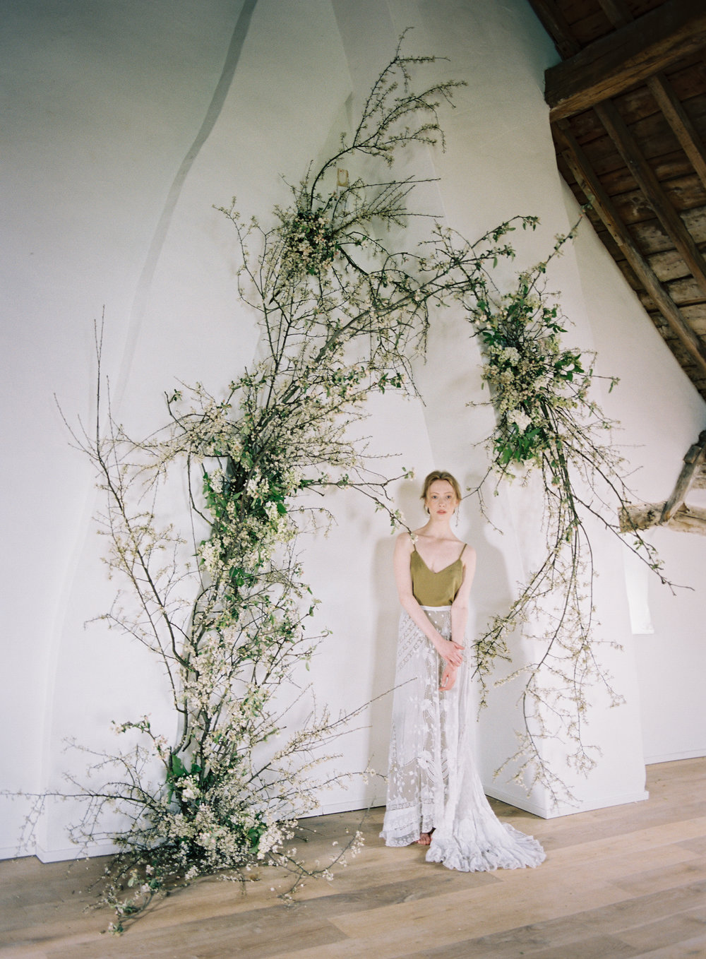 NECTAR + BLOOM | Taylor & Porter Photographs | spring branches arch installation